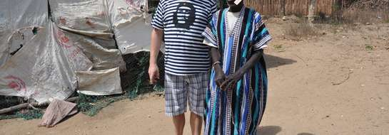 Ignacy Paszkowski z Sątop-Samulewa w czasie swej podróży do Afryki.