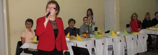 Barbara Grzywacz opowiedziała o działaniach stowarzyszenia