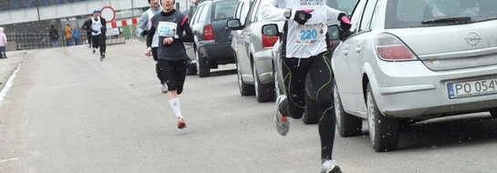 Wyczekując wiosny biegacze z Mrągowa pobiegli w Dąbrowie i Malborku