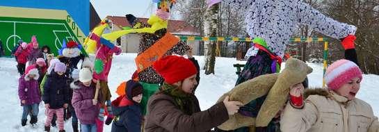 Pożegnanie zimy w Szkole Podstawowej w Perłach