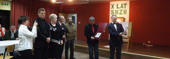 Walne Zgromadzenie zbiegło się w czasie z obchodami X-lecia istnienia Stowarzyszenia Miłośników Ziemi Wielbarskiej