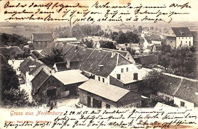 O nidzickiej Synagodze w świetle dokumentów - full image