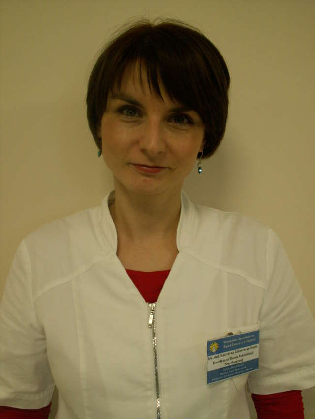 Katarzyna Zaborowska-Sapeta z doktoratem - full image