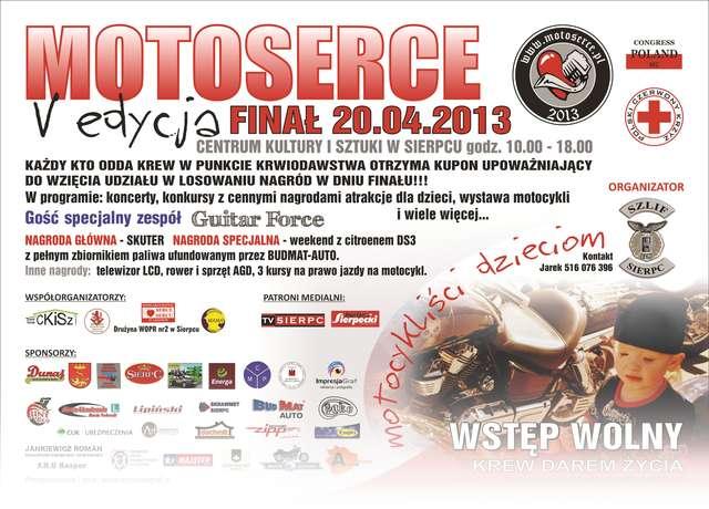 Prezentujemy szczegółowy program imprezy - Motoserce 2013 - full image