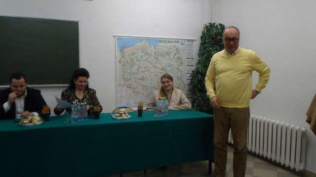Włodzimierz Czarzasty podczas otwarcia  biura SLD w Sierpcu - full image