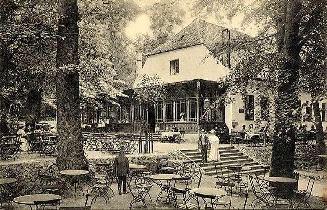 Restauracja w Bażantarni ok. 1909 r. - full image