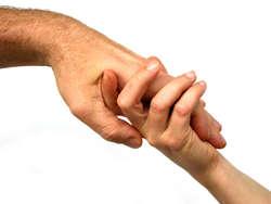 Wolontariusze są zawsze gotowi wyciągnąć pomocną dłoń.