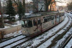 Po Elblągu kursuje jeszcze 11 tramwajów sprowadzonych z Niemiec. Na razie zostały wycofane z eksploatacji