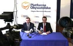 Dzisiaj odbyła się konferencja PO