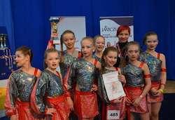To dziewczyny z Olsztyna. Są wicemistrzyniami Europy w tańcu