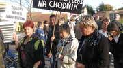 Mieszkańcy protestowali na drodze. Policja: Nielegalnie