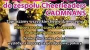 Nabór do zespołu Cheerleaders Cadmans. Dołącz do mistrzyń Polski