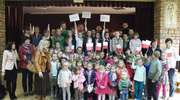 Dzieci z Laseczna poznały historię flagi i godła