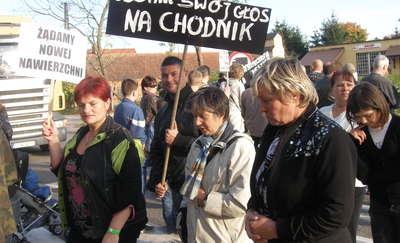 Mieszkańcy Barczewka znowu zablokują drogę?