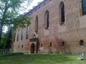 Zamek krzyżacki w Barcianach