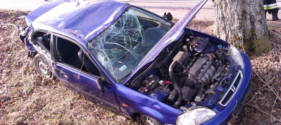 Do wypadku doszło w piątek (26.04.) o godz. 7.30 na prostym odcinku drogi pomiędzy Krzekotami, a Lelkowem