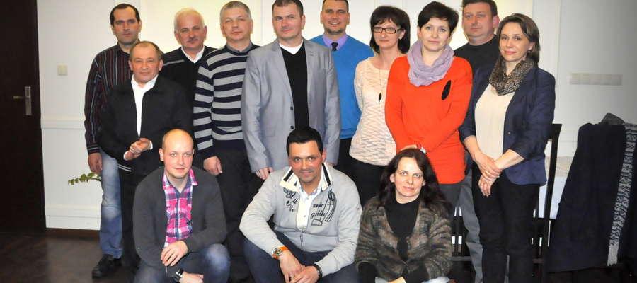 Ludzie Stowarzyszenia. Na zdjęciu nie ma wszystkich członków. Obecnie jest ich 25