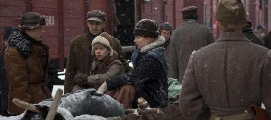 """Kadr z filmu """"Syberiada Polska"""""""