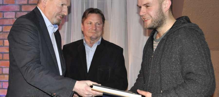 Nagrodę publiczności zdobył Marcin Skrzypczak (z lewej) ze Starogardu Gdańskiego