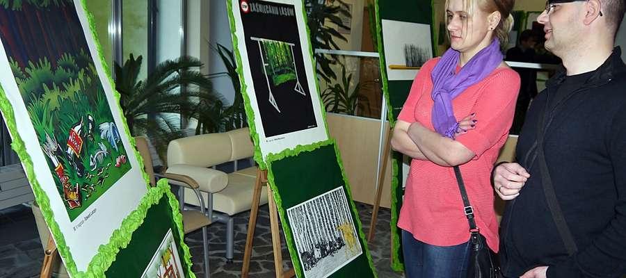 Otwarcie wystawy rozpoczęło ekologiczny tydzień w naszym mieście