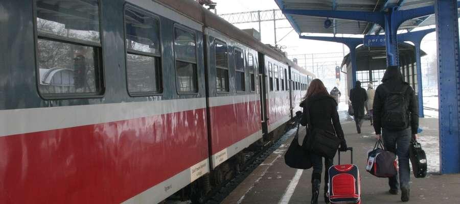 Dworzec kolejowy w Elblągu