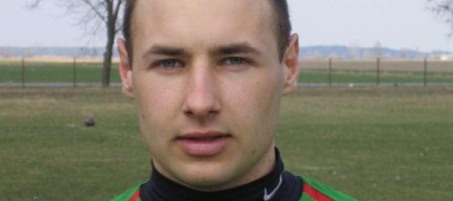 Tomasz Urbański, grający trener GUKS-u Krasnosielc