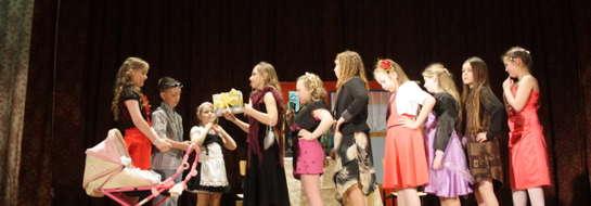 W konkursie udział wzięło pięć zespołów teatralnych
