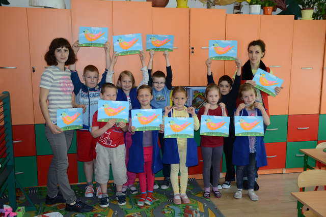 Травневі уроки в  Українській школі в Бартошицях - full image