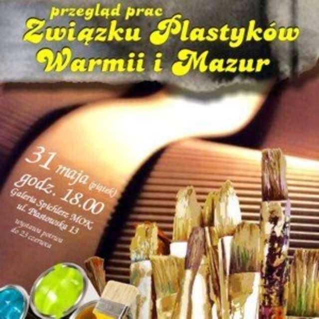 Przegląd prac Związku Plastyków Warmii i Mazur - full image