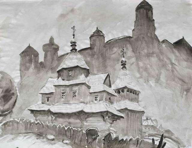 Artysta z ukraińską duszą na wystawie w Galerii Marszałkowskiej w Olsztynie - full image