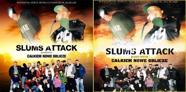 Reedycja kultowej płyty Slums Attack! - full image