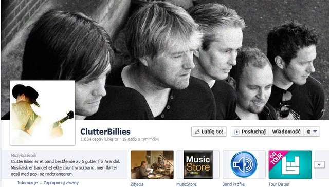 ClutterBillies: posłuchaj norweskie country - full image