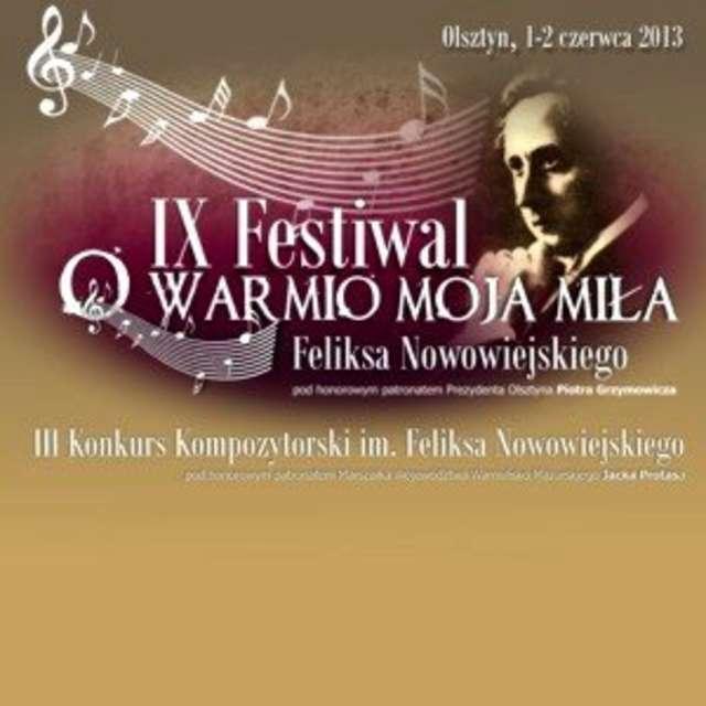 IX Festiwal im. Feliksa Nowowiejskiego - full image