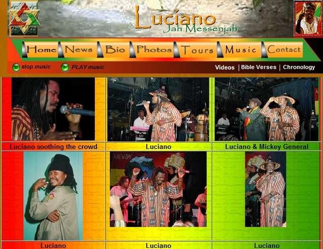 Ostróda Reggae Festival 2013: Luciano - full image