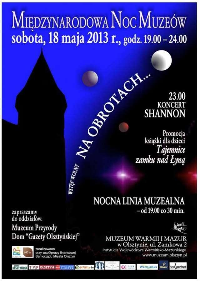 Międzynarodowa Noc Muzeów w Olsztynie i regionie. Program! - full image