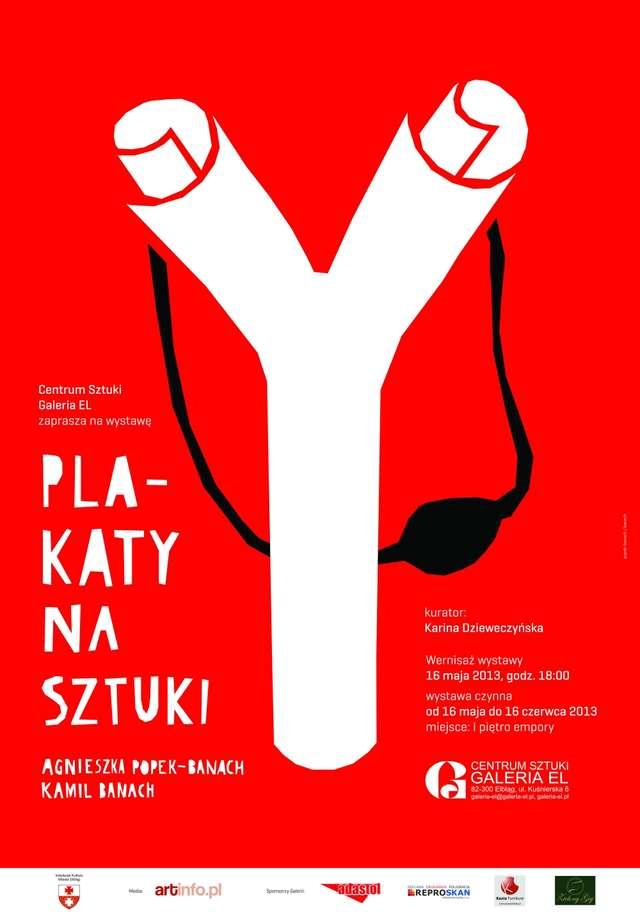 plakaty na sztuki w galerii el dziennik elblski