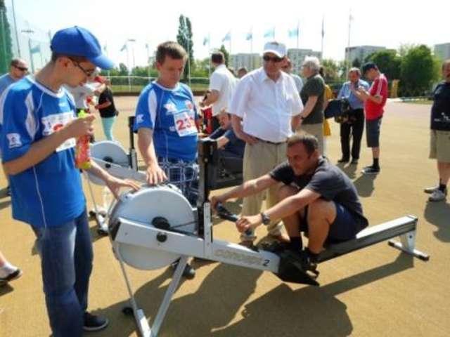 Zawodnicy Szansy na II Toruńskiej Olimpiadzie Osób Niepełnosprawnych - full image