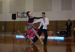 Tańczą Anna Grygo i Piotr Giglewicz