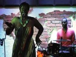 W elbląskim klubie Mjazzga zaśpiewała Wanda Johnson