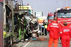 Policjanci nie dojechali na czas na zawody, ratowali rannych w wypadku na krajowej siódemce