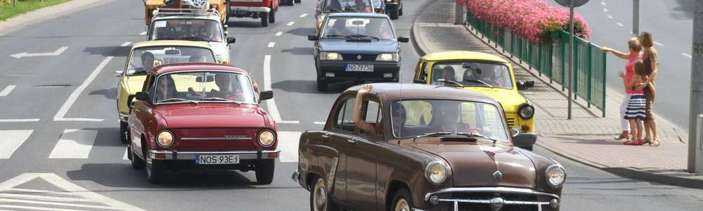 По улицам Ольштына проедет парад автомобилей времен ПНР