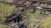 Elementy z torów kolejowych trafiały na złom