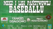 Kolejny mecz I ligi baseballu Yankeesi grają z Piratami