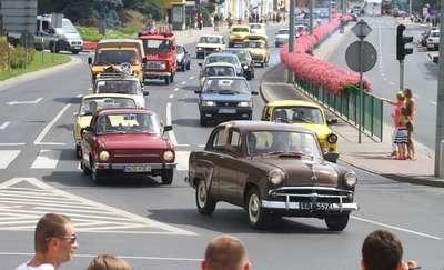 Auta PRL-u przejadą ulicami Olsztyna