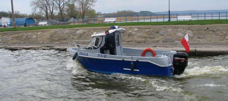 Wymieniona jednostka będzie wykorzystywana na wodach Zalewu Wiślanego przez wodne patrole policyjne, które będą czuwały nad bezpieczeństwem  turystów