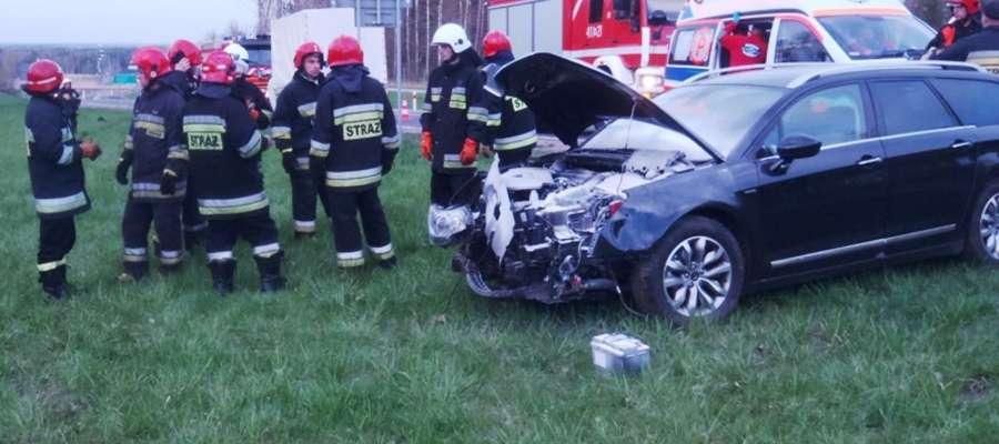 """Do zdarzenia doszło 6 maja, kilka minut po godz. 19.00 na """"berlince"""" w pobliżu węzła drogowego """"Młynary"""""""