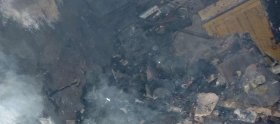 Do pożaru doszło w poniedziałek (6 maja) kilkanaście minut po godz. 17.00