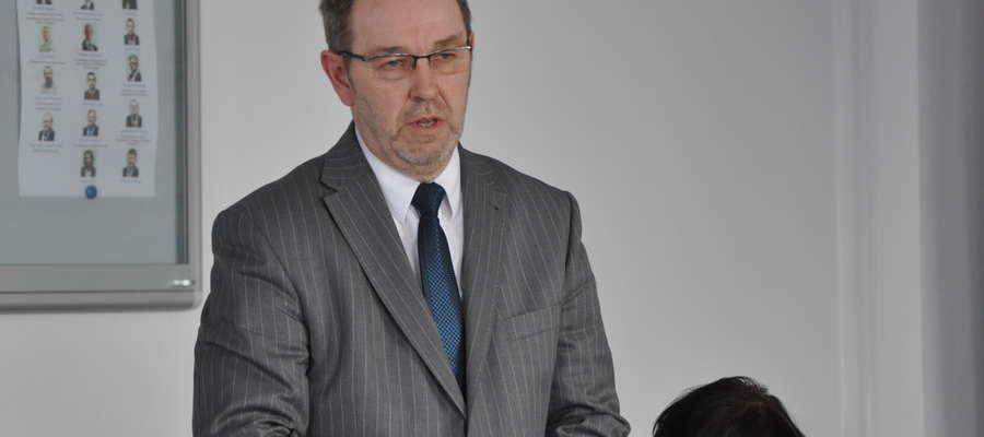 Starosta Janusz Welenc dziękował za realizację budżetu w 2012 roku