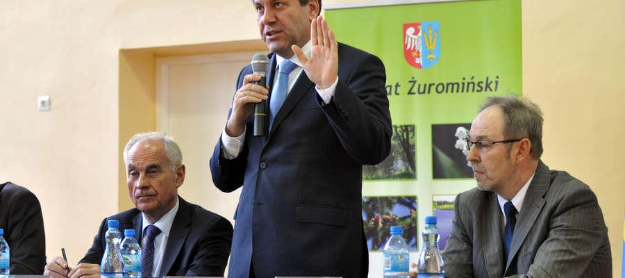Premier Piechociński gościł w Żurominie