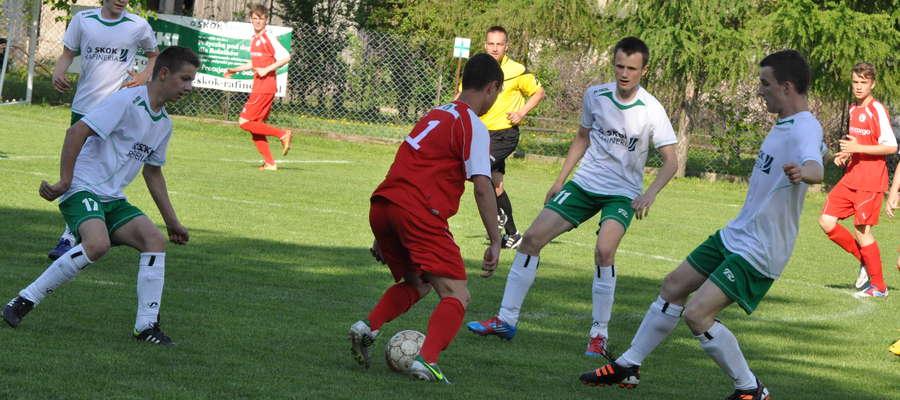 Kadr z meczu Boruta – Legia